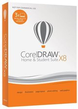 Corel Draw Graphics Suite X8 Home & Student (3 User) (FR) (BOX)