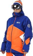 Picture Styler Jacket dark blue/orange/white