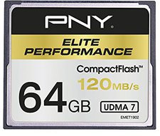 PNY Compact Flash Elite Performance 120MB/s - 64GB