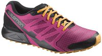 Salomon City Cross W carmine/black/yellow gold