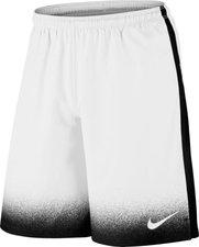 Nike Laser Print Shorts weiß