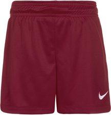 Nike Park II Shorts Kinder dunkelrot mit Innenslip