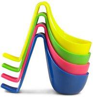 Authentics Eiko Eierkocher 4er-Set gelb / grün / pink / blau