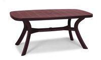 Best Freizeitmöbel Kansas Tisch oval 192x105cm rot (18519240)