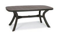 Best Freizeitmöbel Kansas Tisch oval 192x105cm anthrazit (18519250)