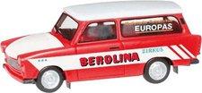 """Herpa Trabant 601 Universall  """"Zirkus Berolina """" (092739)"""