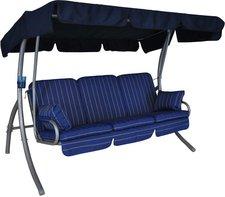 Angerer Comfort 3-Sitzer Design Faro blau