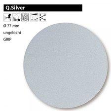 Mirka Q.Silver-Schleifscheiben  77 mm, ungelocht, P150 (100 St.)