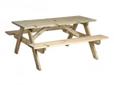 Alexander Rose Woburn Picknicktisch 316 groß