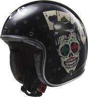 LS2 Helmets OF583 Bobber Tattoo schwarz