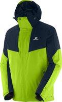 Salomon Icerocket Jacket M granny green/big blue