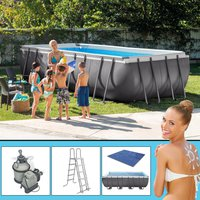 Intex Pools Frame-Pool 549 x 274 x 132 cm mit Sandfilteranlage Komplett-Set (2891148)