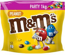 M&Ms Peanut Party Pack (1kg)