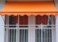 Angerer Klemm-Markise 150 x 150 cm Uni orange