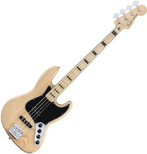 Fender Deluxe Active Jazz Bass Ash Natural