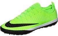Nike MercurialX Finale II TF flash lime/white/gum light brown/black