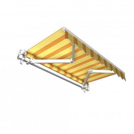 jarolift gelenkarmmarkise 250 x 150 cm gelb orange preisvergleich ab 229 99. Black Bedroom Furniture Sets. Home Design Ideas