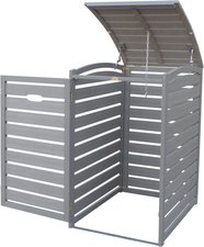 Habau Mülltonnenbox Kunststoff 1 x 240 Liter (3161)