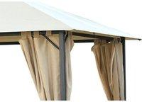 Grasekamp 4 Seitenteile für Pavillon Nizza 3x3m sand