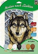 MAMMUT Malen nach Zahlen, Wolf