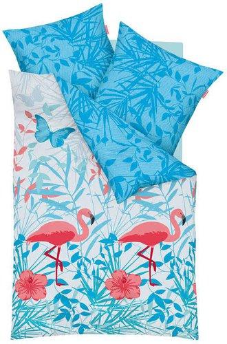 flamingo bettw sche f r nur 1 online bestellen. Black Bedroom Furniture Sets. Home Design Ideas