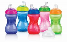 Nuby Trinkbecher Easy Grip tropffrei 295 ml
