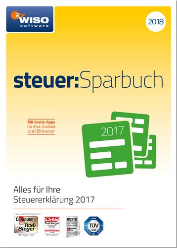 buhl data wiso steuersparbuch 2018 esd - Wiso Bewerbung