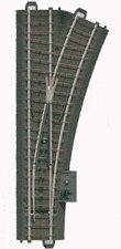 Märklin 24612 - Weiche rechts r437,5 mm,24,3 (H0)