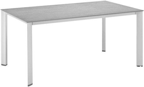 Kettler Kettalux Plus Dining Tisch 160x70cm Schieferoptik Anthrazit