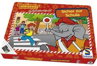 Schmidt Spiele Benjamin Blümchen - Sicher zur Schule