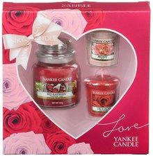 Yankee Candle Geschenkset Love 1 Kleine Kerze +...