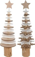Holzfigur Tannenbaum