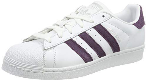 Adidas Superstar W ftwr white/red night/silver met.