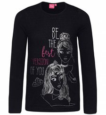 Disney Langarmshirt Mädchen
