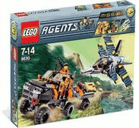 LEGO Agents 8630 Mission 3 Goldjagd