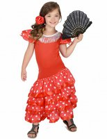 Flamenco Kinderkostüm