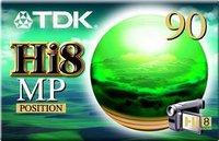 TDK Hi 8 90min
