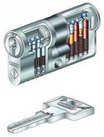 ABUS Pfaffenhain Wavy Line - Profildoppelzylinder 45/55