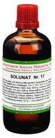 SOLUNA Solunat Nr.17 Tropfen (100 ml)