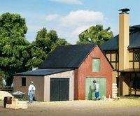 Auhagen 11408 - Lagerschuppen mit Garage