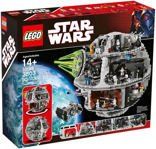 lego star wars todesstern 10188 g nstig kaufen. Black Bedroom Furniture Sets. Home Design Ideas