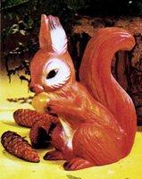 Gartenfigur Eichhörnchen