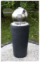 Gartenbrunnen Edelstahl