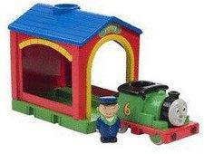 Golden Bear Thomas & seine Freunde: Drive Away Sprechender Percy & Lokschuppen (5534)