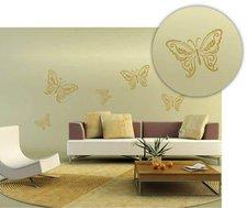 C. Kreul XXL-Wandschablone Schmetterlinge