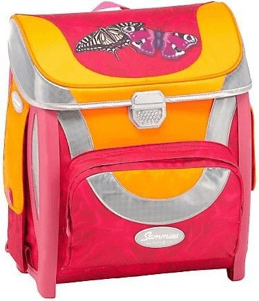samsonite schulranzen sammies optilight pink butterfly. Black Bedroom Furniture Sets. Home Design Ideas
