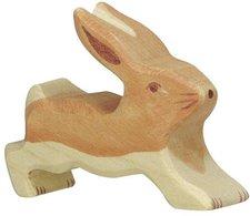 Holztiger Hase klein laufend