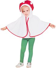 Fliegenpilz Kinder Kostüm