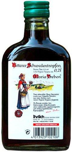 Ihrlich Maria Treben Bitterer Schwedentropfen 32% Vol. (PZN 6056668)