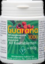 Velag Pharma Guarana 1000 g Kautabletten (PZN 1340034)